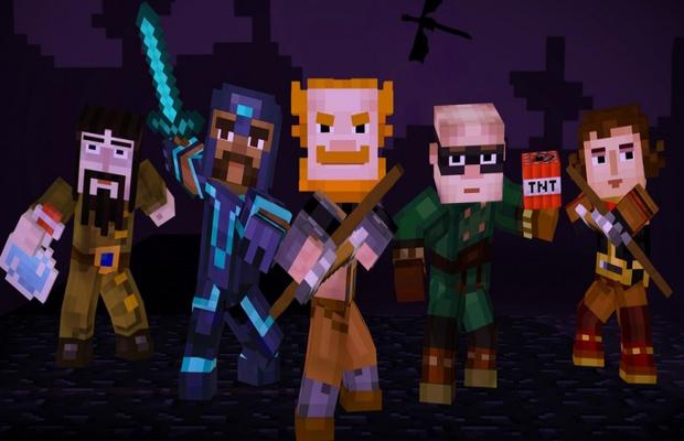 Solutions de Minecraft Story Mode épisode 4 b