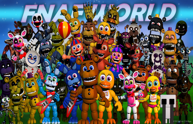 Solution pour FNAF World - Zoneasoluces.fr