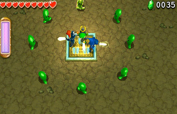Solution pour The Legend of Zelda Triforce Heroes b