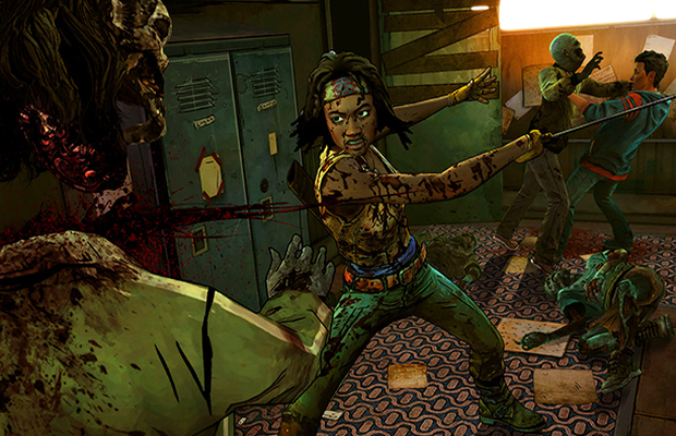 Solution pour The Walking Dead Michonne Episode 1 b