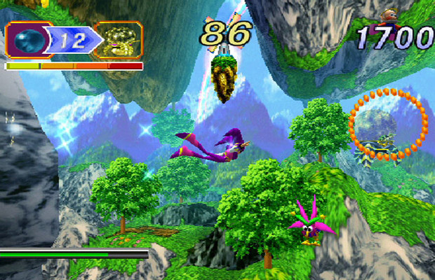 solution pour Nights Into Dreams b