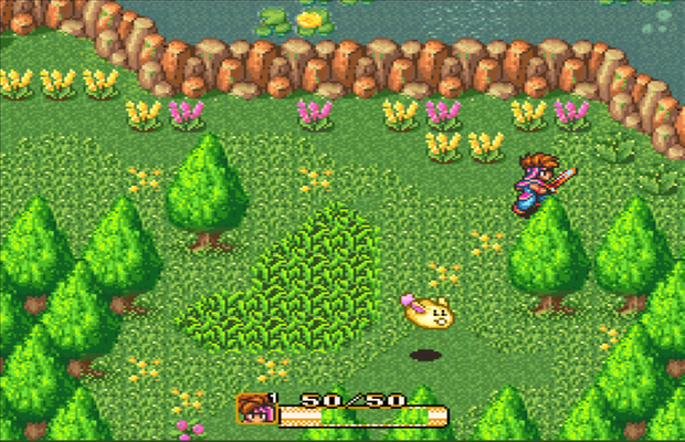 Solution pour Secret Of Mana b