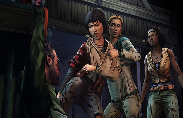Solution pour The Walking Dead Michonne Episode 3 b