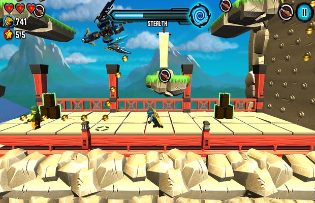 Solution pour LEGO Ninjago Skybound b