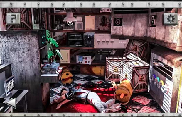 Solution pour Escape the Horror Room 4 b