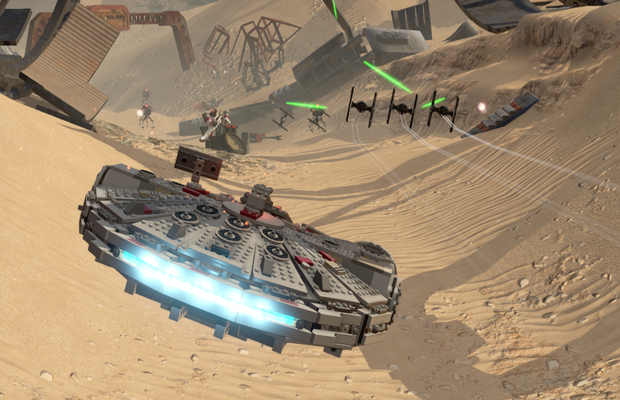 solution pour LEGO Star Wars The Force Awakens b