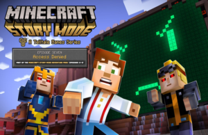 Solutions de Minecraft Story Mode épisode 7 a