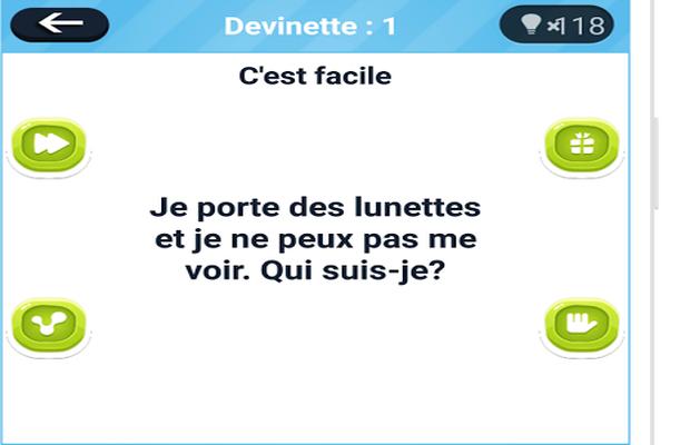 Solution pour Devinettes en Français b