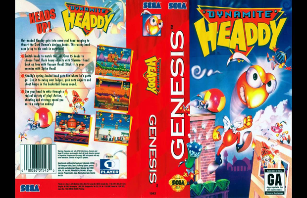Read more about the article Rétro: Solution pour Dynamite Headdy