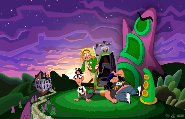 Solution pour Day of the Tentacle