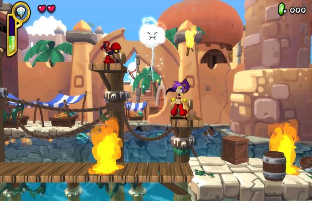 solution pour Shantae Half-Genie Hero b
