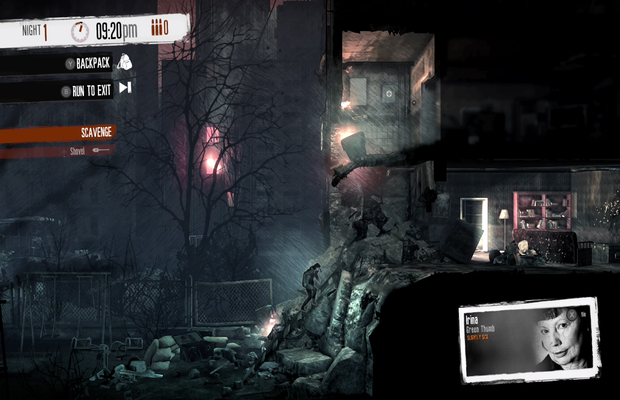 solution pour This War of Mine The Little Ones b