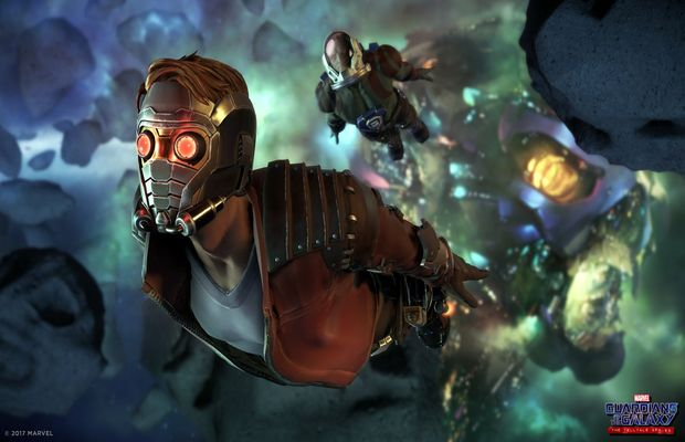 solution pour GUARDIANS OF THE GALAXY Episode 1 b