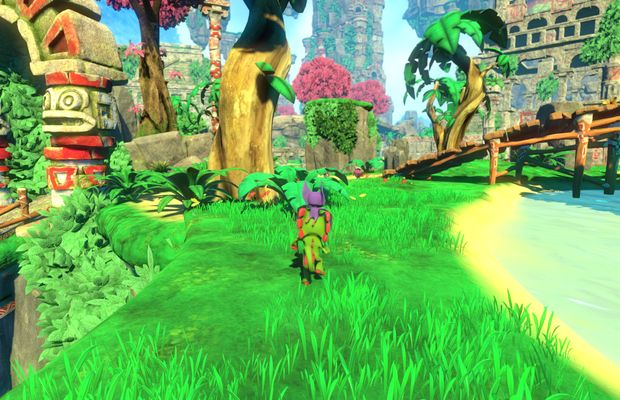 solution pour Yooka Laylee b