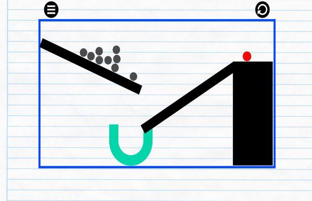 solution pour Physics Drop b