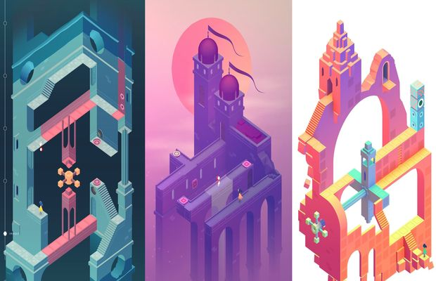 solution pour Monument Valley 2 b