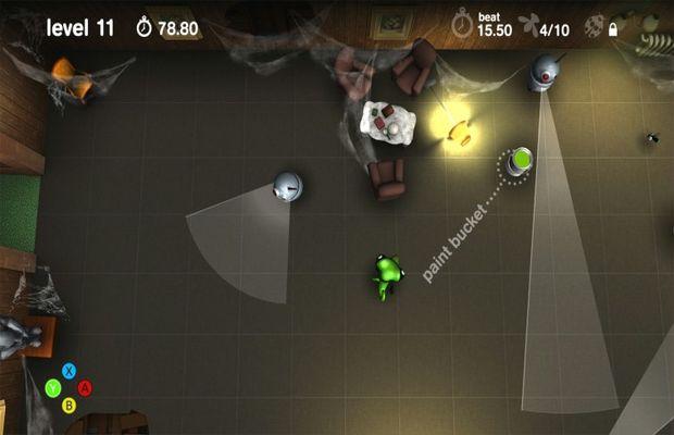 solution pour Spy Chameleon b