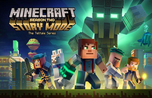 Solution pour Minecraft Story Mode Saison 2 Episode 1