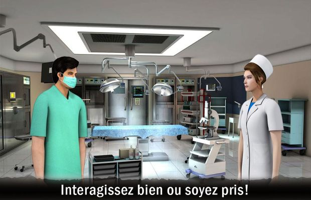 solution pour Prisoner Escape From Hospital b