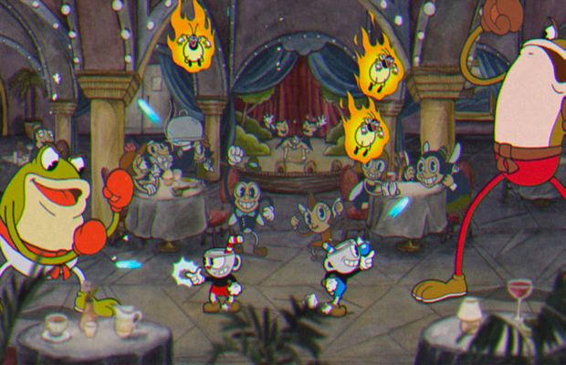 solution pour CUPHEAD b