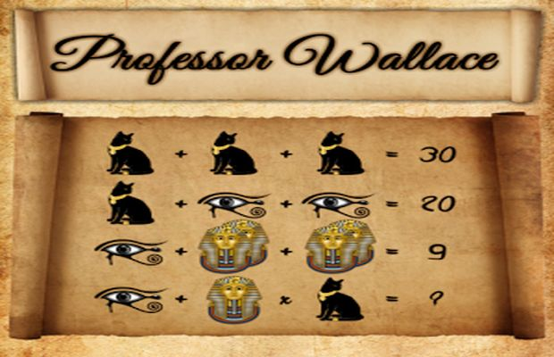 solution pour Professor Wallace c