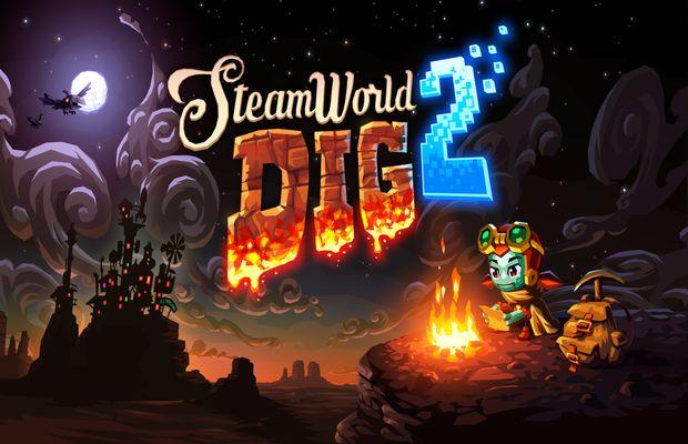 Solution pour SteamWorld Dig 2, plateforme action