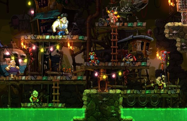 solution pour SteamWorld Dig 2 b