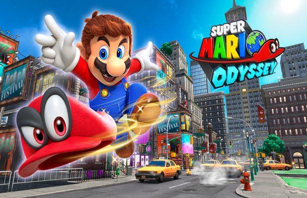 Solution pour Super Mario Odyssey, plombier au top !