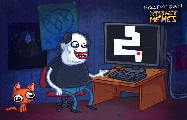 solution pour Troll Face Quest Internet Memes b