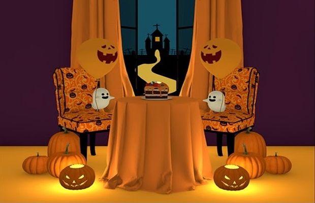 solution pour Escape Game Halloween sur mobile b