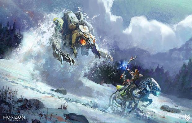 solution pour HORIZON ZERO DAWN The Frozen Wilds b