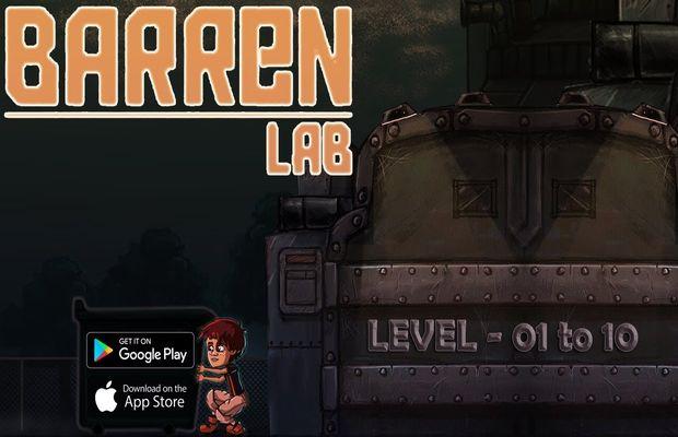 solution pour Barren Lab a