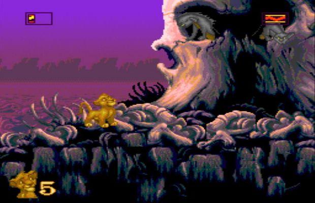 solution pour Le Roi Lion sur 16 bits b