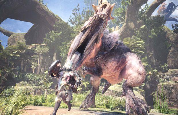 solution pour Monster Hunter World b
