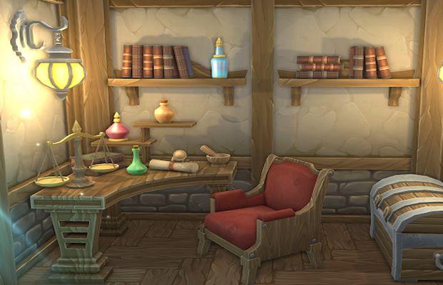 solution pour Escape Alchemist's House b