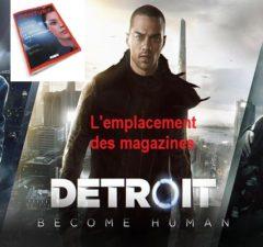 magazines dans Detroit Become Human a