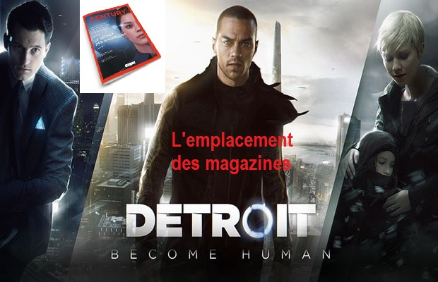 magazines dans Detroit Become Human a