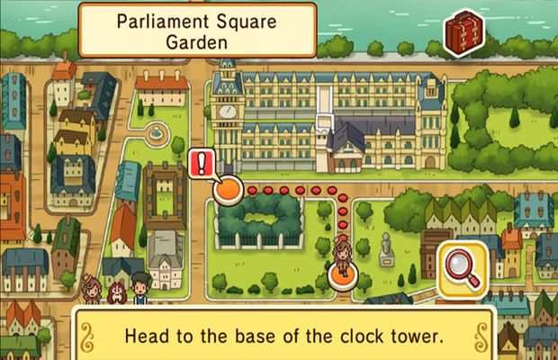 solution pour Layton's Mystery Journey b