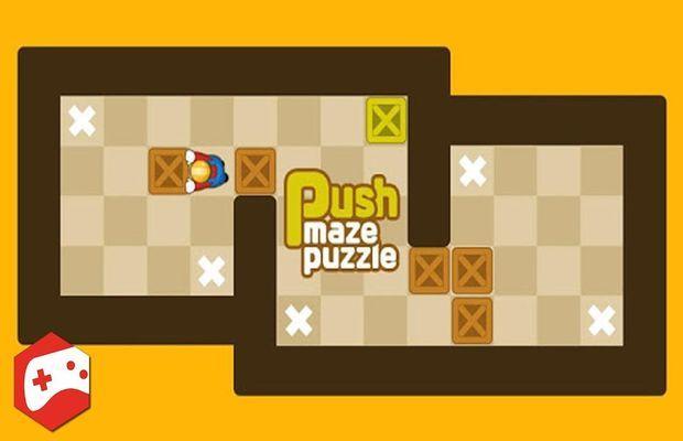 Solution pour Push Maze Puzzle b