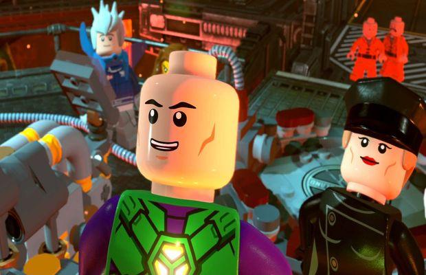 solution pour Lego DC Super Villains b