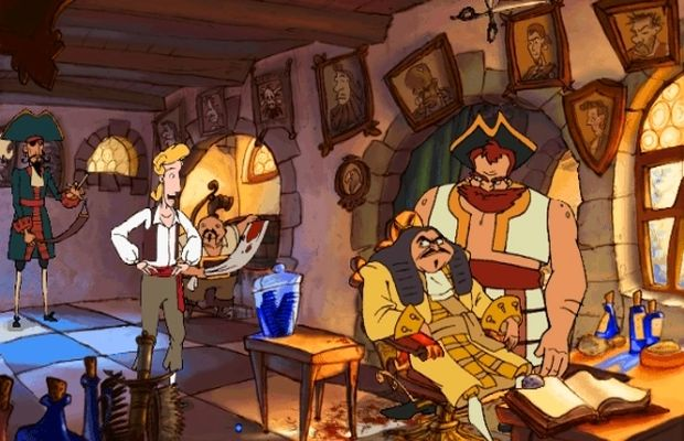 solution pour The Curse of Monkey Island b