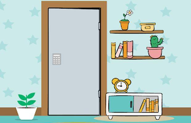 solution pour Escape Room The 4 Digit Code b