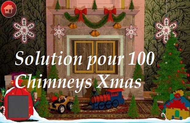 solution pour 100 Chimneys Xmas b
