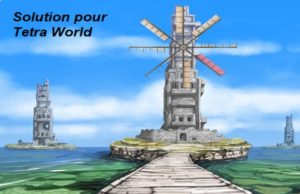 solution pour Tetra World Adventure a
