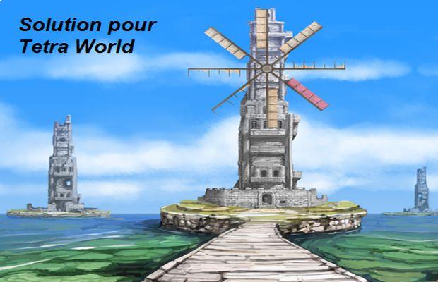 solution pour Tetra World Adventure a