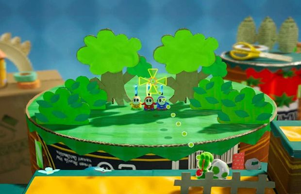 solution pour Yoshi's Crafted World b