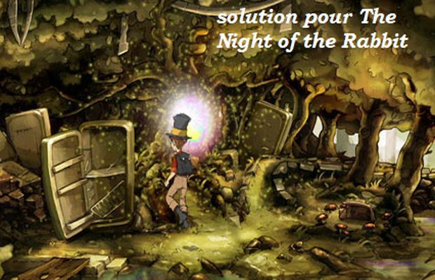 solution pour The Night of the Rabbit b
