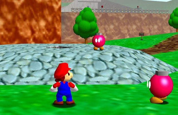 speedrun de Super Mario 64 b
