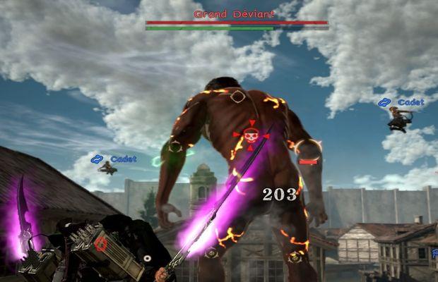 solution pour L'Attaque des Titans 2 b