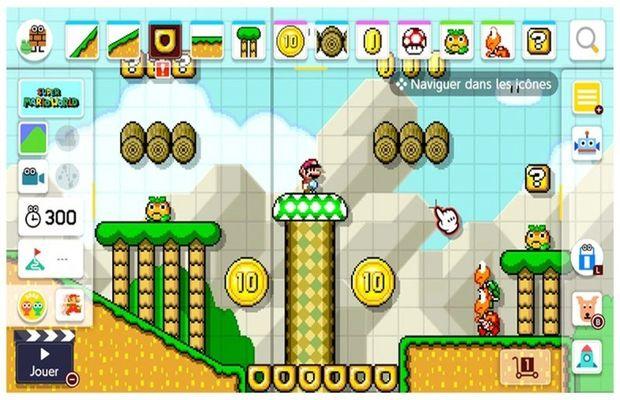 solution pour Super Mario Maker 2 b